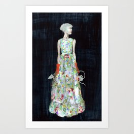 The Gardiner Art Print
