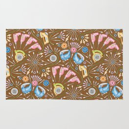 Flower Power Tools Rug