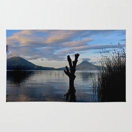 Sunrise at Lago Atitlan,Guatemala Rug