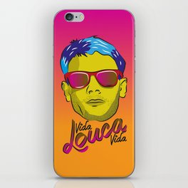 Cazuza - Rock Brasileiro iPhone Skin