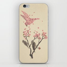 Blossom Bird  iPhone Skin