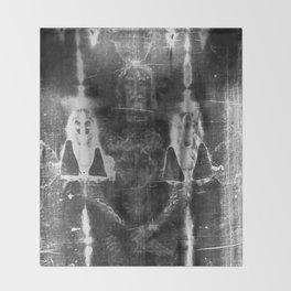 Shroud of Turin Throw Blanket
