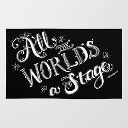 All The World's A Stage Rug