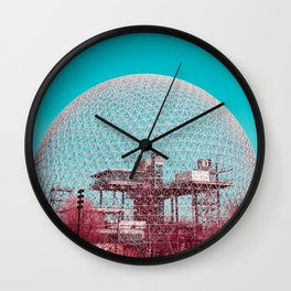 Surreal Montreal #6 Wall Clock