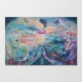 Divine Sacred Union Canvas Print