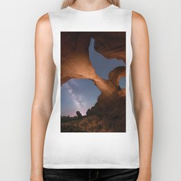 Double Arch in Arches National Park 2 Biker Tank