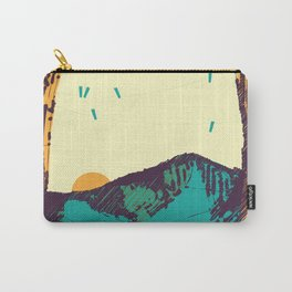 Upward over the Mountain: Sunrise Carry-All Pouch