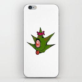 Miss Weed Monster iPhone Skin