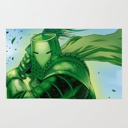 The Green Knight Rug