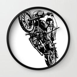 Wheelee Wall Clock
