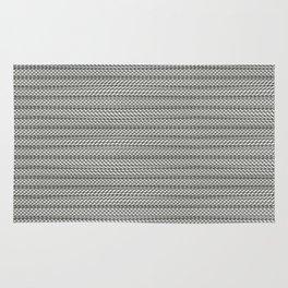 zigzag texture Rug