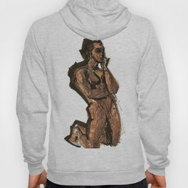 Thoughts That Require Nudity Hoody