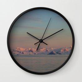 Calm Evening Glory Wall Clock