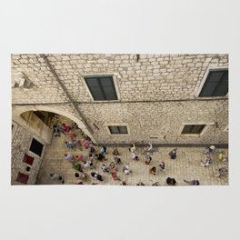 The Walled City of Dubrovnik Rug