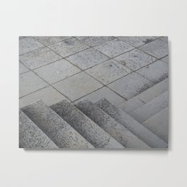 Stairs on stairs and more stairs Metal Print