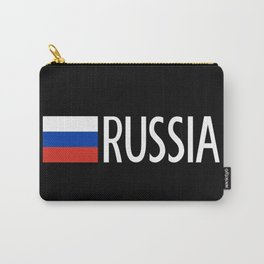 Russia: Russian Flag & Russia Carry-All Pouch