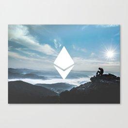 Ethereum Print Canvas Print