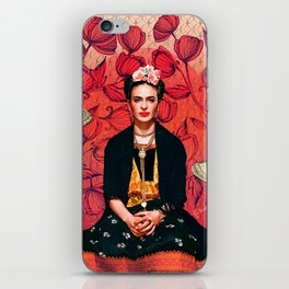 Frida enamorada iPhone Skin