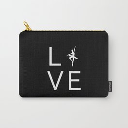 Love Ballet for Ballerina Dancers Carry-All Pouch