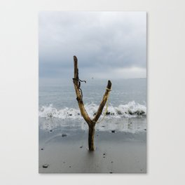 Wishbone Slingshot Into The Ocean Canvas Print