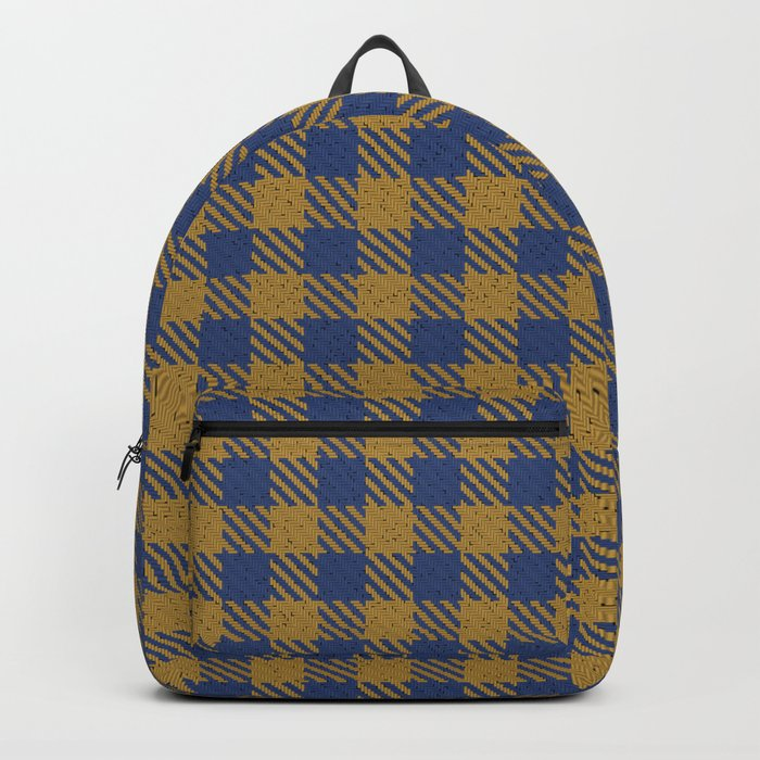 Abercrombie, Alpine, Resolution Blue, Camel, Plaid Backpack