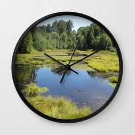Billy J. Frank Nisqually National Wildlife Refuge, Reflection Wall Clock