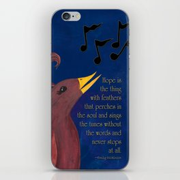 A Song of Hope iPhone Skin