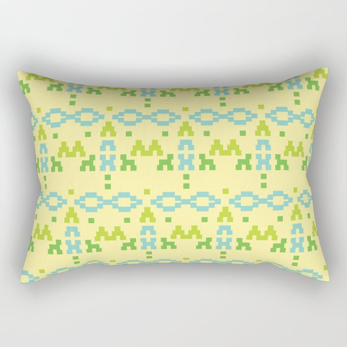 simple tribal pattern Rectangular Pillow