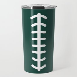 Football Green Travel Mug