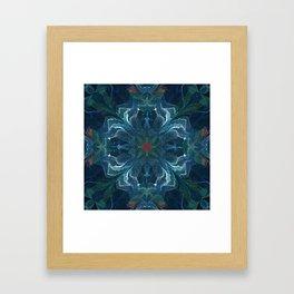 Valor and Mercy Framed Art Print