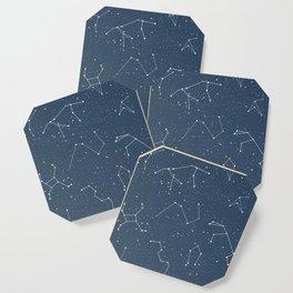 Star night constellations Coaster
