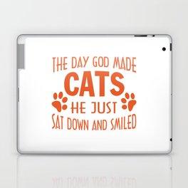 GOD MADE CATS Laptop & iPad Skin