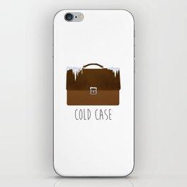 Cold Case iPhone Skin