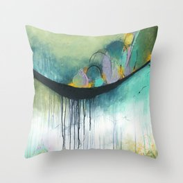 Immerse Throw Pillow