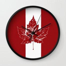 Cool Canada Souvenirs Wall Clock