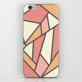 Geometric Colour Pattern V4 iPhone Skin