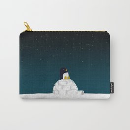 Star gazing - Penguin's dream of flying Carry-All Pouch