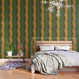 Yellow & Green Abstract Wallpaper
