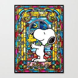 Snoopy art Canvas Print