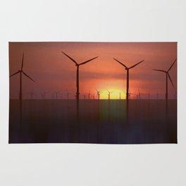 Clean Energy (Digital Art) Rug