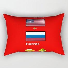 Clown Horror Rectangular Pillow