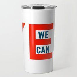Yes we can Travel Mug