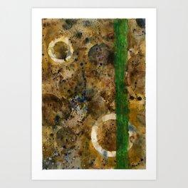 Watersplat - Series 2, 09 Art Print