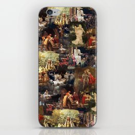 Arthurian Romances iPhone Skin