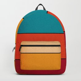 Vintage Retro 80's and 90's Pattern Backpack