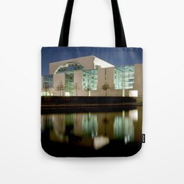 Nocturnal landscape of Berlin Tote Bag