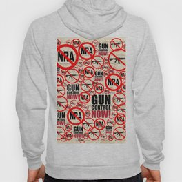 No Guns Anti-gun Violence Protest Design on Journal Hoody