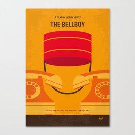 No977 My The bellboy minimal movie poster Canvas Print