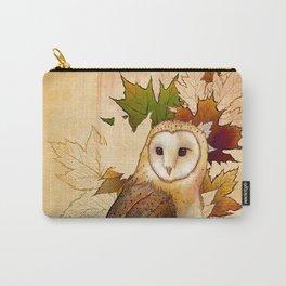 Autumn Barn Owl Carry-All Pouch