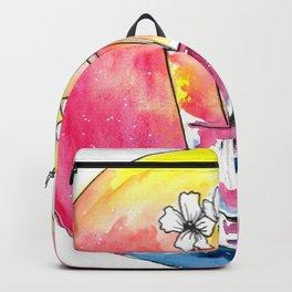 Glass vase Backpack